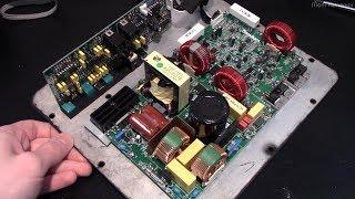 Repair of a Paradigm UltraCube 10 Subwoofer