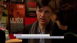 Librairie : «Le grand gâchis culturel» selon François de Mazières