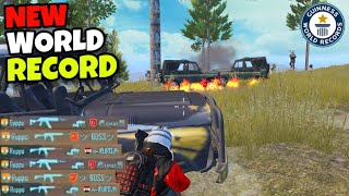 NEW WORLD RECORD!!! | 5 KILLS IN 13 SECONDS | PUBG MOBILE