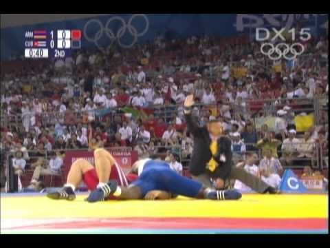 Greco Roman Wrestling Technique Highlights from Beijing Olympics-Part 1