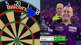 PDC Darts World Championship Final   Peter Wright Vs Michael Van Gerwen FULL MATCH