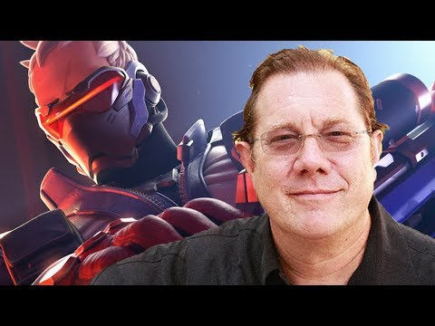 OVERWATCH VOICE ACTOR  WITH FRED TATASCIORE! SOLDIER: 76