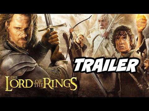 Lord Of The Rings Teaser Trailer - Sauron and Rings of Power Series Breakdown