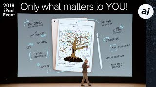 2018 iPad Event in 4 minutes - For Regular Consumers!