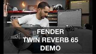Fender Twin Reverb 65 - Amp Demo
