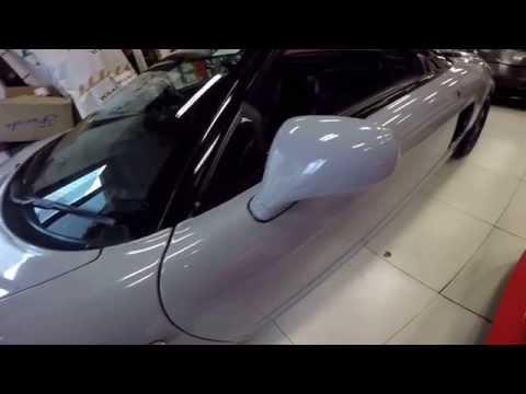 Gloss tele-grey Honda Acura NSX by Wrap Workz Hong Kong (GoPro Details)