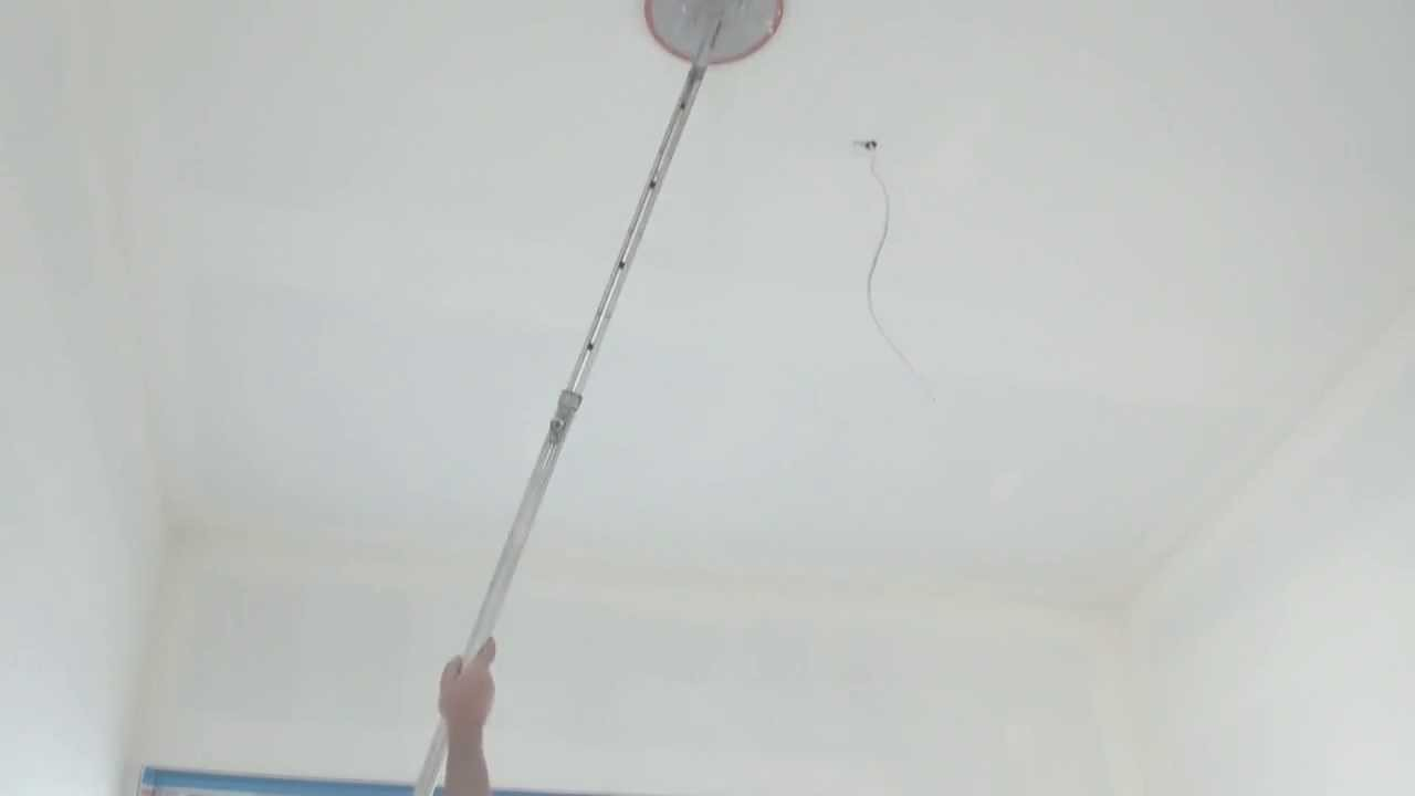 How To Sand A Ceiling