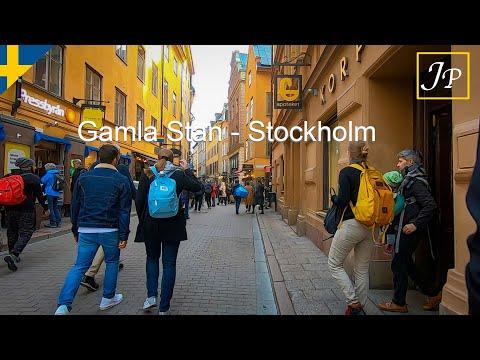 Stockholm piétonnisée en hiver