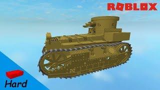 ROBLOX STUDIO SPEED BUILD / T1E1 light Tank