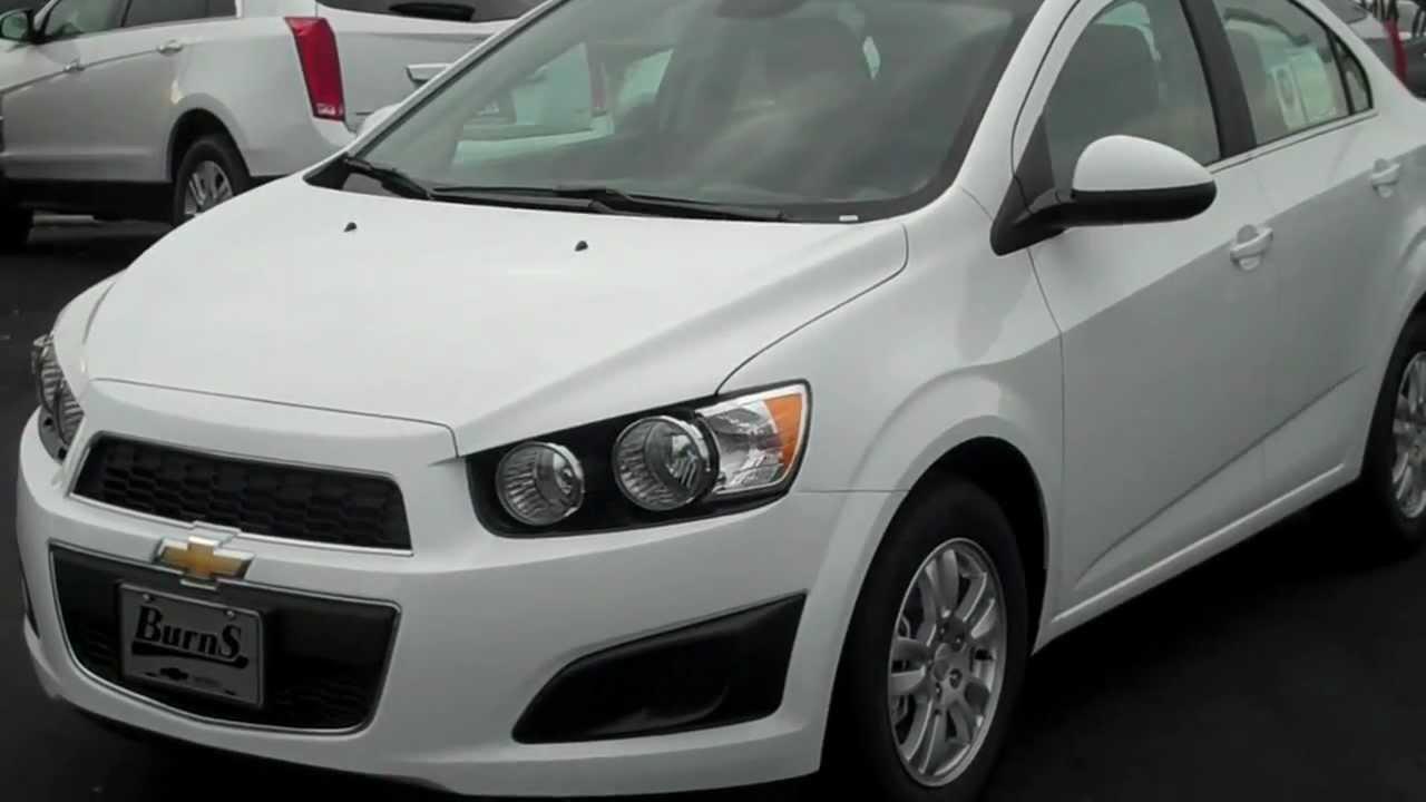 2013 Chevrolet Sonic White Turbo sedan...under $18,000 with ...