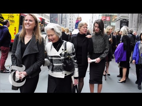 Paying Respects | On the Street w/ Bill Cunningham | The New York Times