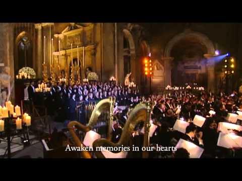 Andrea Bocelli - Sacred Arias - Va pensiero - with English subtitles