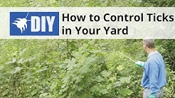 How to Control Ticks in Your Yard - Outdoor Tick Control | DoMyOwn.com