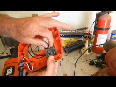 hqdefault black & decker reciprocating saw switch replacement youtube Chainsaw Diagram at gsmx.co