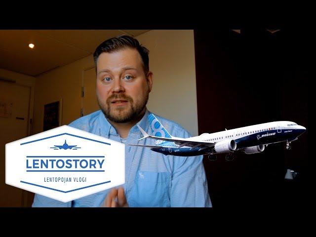 Lentostory: Boeing 737 MAX lentokone