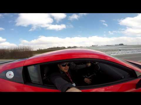 2017 Audi R8 launch in Germany on the Audi driving experience track munich
