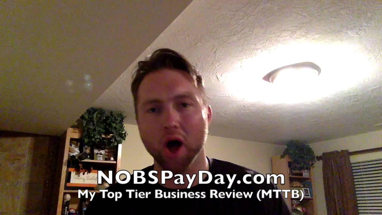 Mttb review matt lloyd my top tier business review scam real