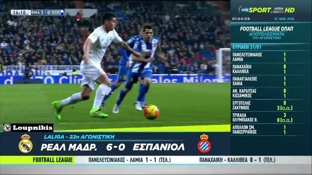 Real Madrid Vs Rcd Espanyol 6 0 All Goals And Highlights
