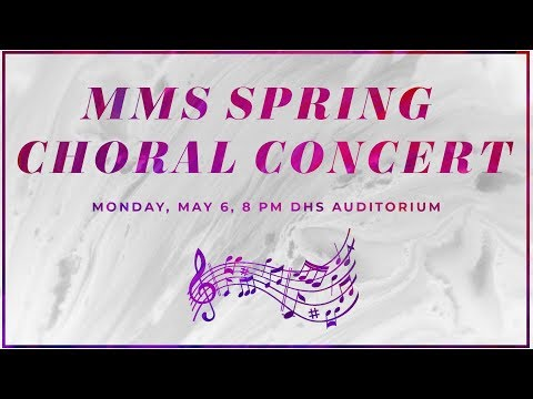 Middlesex Middle School 8th Grade Choral Concert Featuring The Camerata Singers