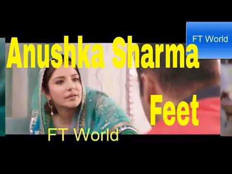 anushka sharma feet