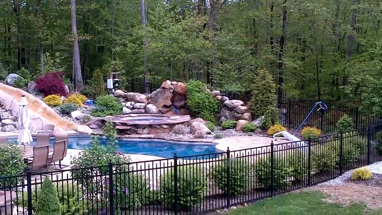 Crazy Cool Amazing Backyard Resort DeckRemodelers.com 973 ...