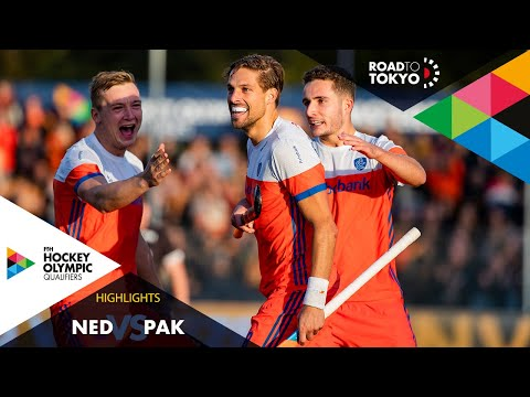 Netherlands Vs Pakistan | FIH Hockey Olympic Qualifiers | Men's | Match 2
