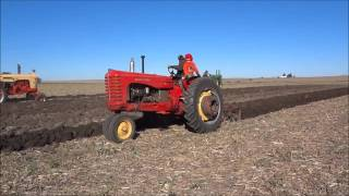 An Old-Fashioned Plow Day with Antique Tractors