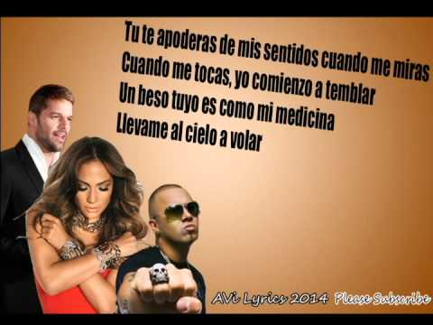Wisin - Adrenalina ft. Jennifer Lopez, Ricky Martin (Lyrics, Letra)