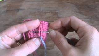 Swiss Darning Duplicate Stitch) How To