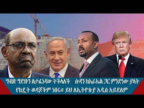 Ethiopian:የከዷት ወዳጆችም ነበሩ። ይህ ለኢትዮጵያ አዲስ አይደለም። ግብጽ ግድቡን ልታፈነዳው ትችላለች የወሲባዊ ጥቃቶችን በማድረስ ሲፈለግ የነበረው