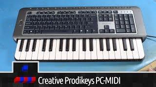 Hybrid Keyboard - Creative Prodikeys PC-MIDI