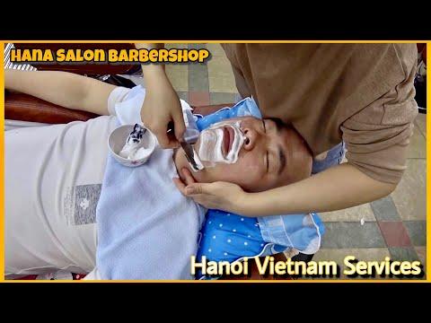 베트남 하노이 하나 이발소 남자편 hanasalon in hanoi vietnam