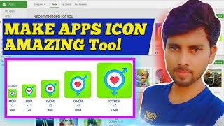 How create Android app icon, How creat app icon for google play store listing ,play store update