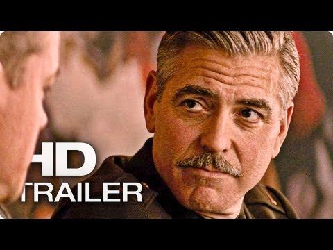 MONUMENTS MEN Trailer Deutsch German | 2014 George Clooney, Matt Damon [HD]