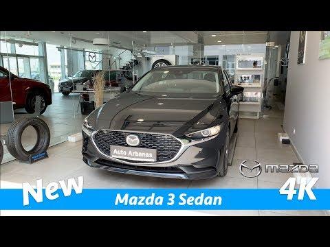Mazda 3 Sedan 2019 FIRST quick review in 4K