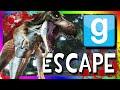 ESCAPE FROM JURASSIC WORLD!!! | Gmod Dino Escape Challenge (Jurassic Park in Gmod)