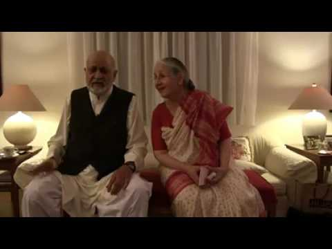 Pyaasa song by old lovely couple