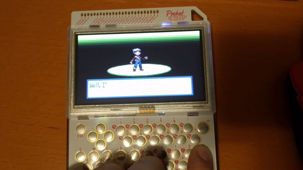 GBA on Pocket CHIP