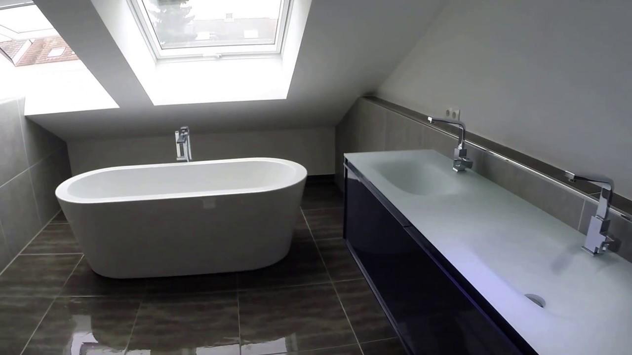 Groe bodenfliesen  Badezimmer mit große Wand und Bodenfliesen Platten - YouTube