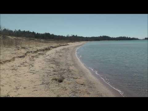 Lake Michigan Shores, Wilderness State Park, Emmet County, Michigan