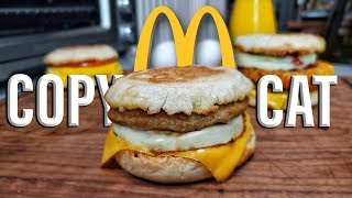Egg McMuffin Recipe  Copycat Recipes  Breakfast Sandwich