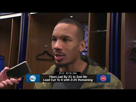 Pistons LIVE Postgame 10.23.17: Avery Bradley