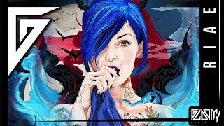 "Digital speed painting - "" RIAE "" SUICIDE GIRL - time lapse video by GLOOMY STROKE. Painting art."