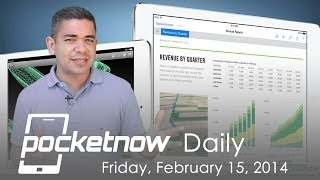 Office for iPad, Galaxy Gear 50% off, Apple and Samsung CEO meeting & more - Pocketnow Daily