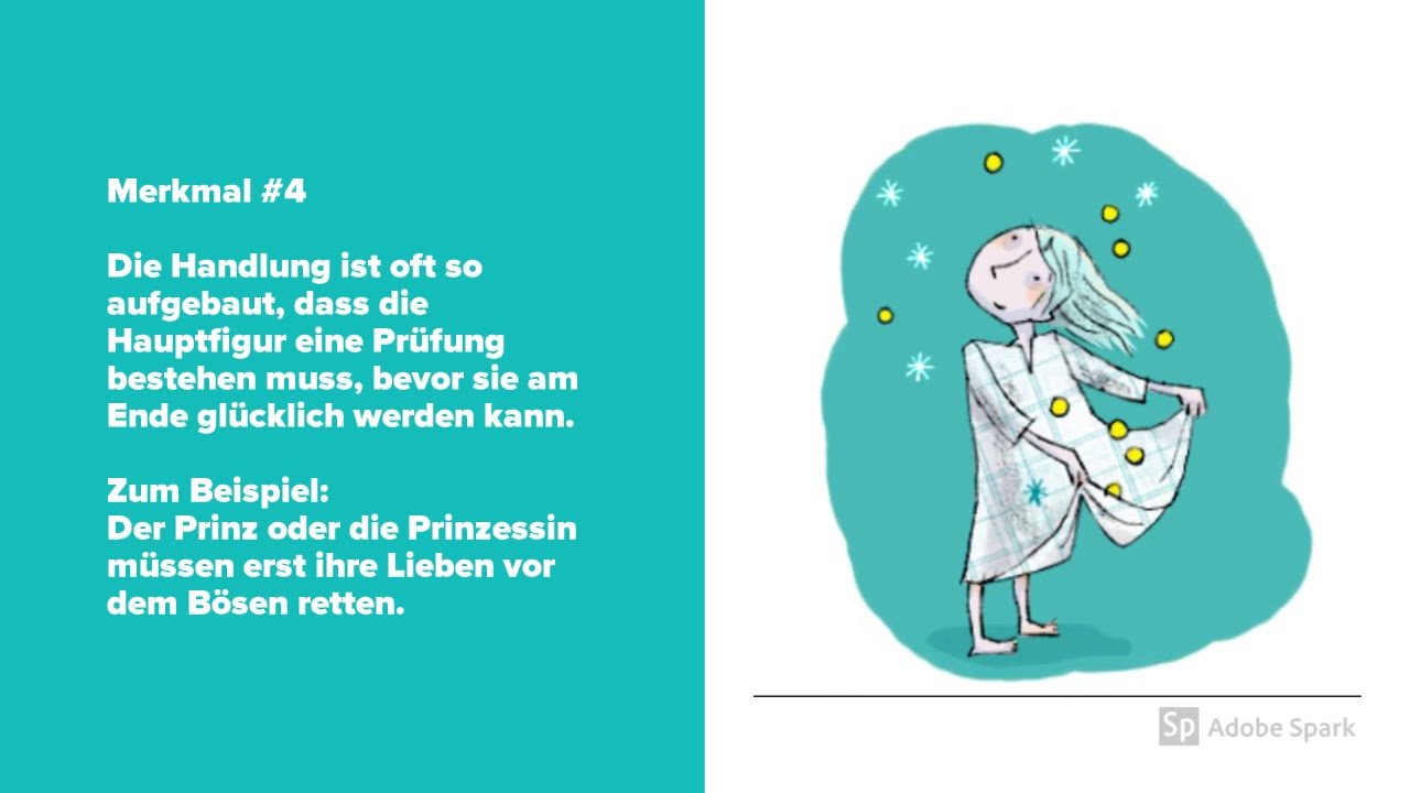 Merkmale Von Märchen Deutsch Klasse 56