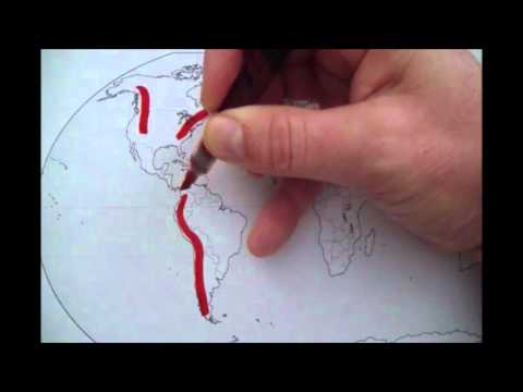 World Geography Map Quiz 1 - Mountain Ranges Explained