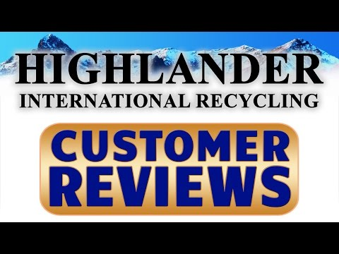 Highlander International - REVIEWS - East Kilbride Glasgow Waste Paper Recycling