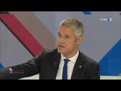 Dimanche en politique: Laurent Wauquiez pdt de la région Auvergne-Rhône-Alpes