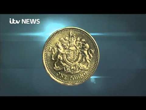 Last round pound coin minted