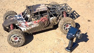 After 2 YEARS I try to start my 32cc LOSI DBXL and this happened | RC ADVENTURES
